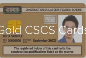 How to Get a Gold Supervisory CSCS Card