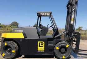 New Zero-Emission Electric Forklift.
